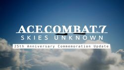 Cette année, nous fêtons le 25e anniversaire de la licence Ace Combat !