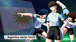 Captain Tsubasa: Rise Of New Champions The Argentinian Junior Youth team is out for victory!