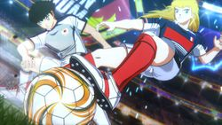 Captain Tsubasa: Rise of New Champions French Junior Youth is demonstrating their artsy and fiery playstyle