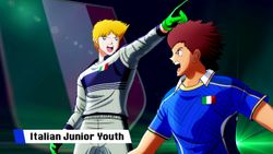 Captain Tsubasa: Rise Of New Champions Stop any goal with the Italy Junior Youth team