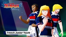 Captain Tsubasa: Rise of New Champions The French Junior Youth are showing off their stylish playstyle!
