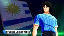 Captain Tsubasa: Rise Of New Champions Das Uruguay Jugendteam ist bereit, sich bis zum Sieg zu dribbeln!