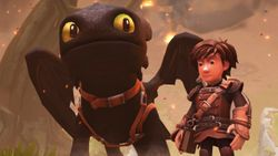 Publicado el primer teaser de DreamWorks Dragons Dawn of New Riders