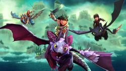 Outright Games y Universal Games anuncian el videojuego Dreamworks Dragons Dawn of New Riders