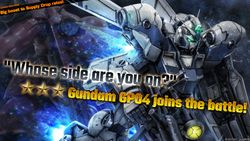 Mobile Suit Gundam Battle Operations 2 – Gundam GP04 joins the battle & Late October's MAP Update