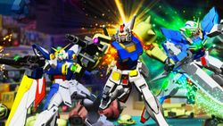 Build your own Gunpla and join the fight with NEW GUNDAM BREAKER available now