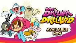 MR. DRILLER DRILLLAND disponibile da oggi per nintendo switch e pc tramite steam!