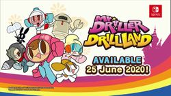 Mr. DRILLER celebrates its 20th anniversary with a remaster of Mr. DRILLER DrillLand