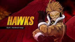 ¡Hawks se unirá hoy al plantel de MY HERO ONE'S JUSTICE 2! Y Patch Notes