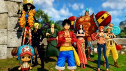 Fête la sortie de ONE PIECE WORLD SEEKER avec l'EP!C Rewards Club