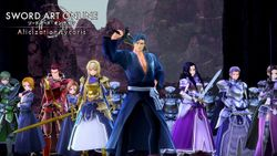 Sword Art Online iconic characters to appear in SWORD ART ONLINE Alicization Lycoris!