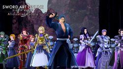 Alcuni iconici personaggi di Sword Art Online sono presenti in SWORD ART ONLINE Alicization Lycoris!