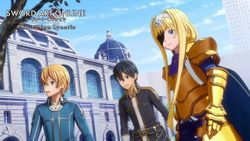 SWORD ART ONLINE Alicization Lycoris disponibile ora!