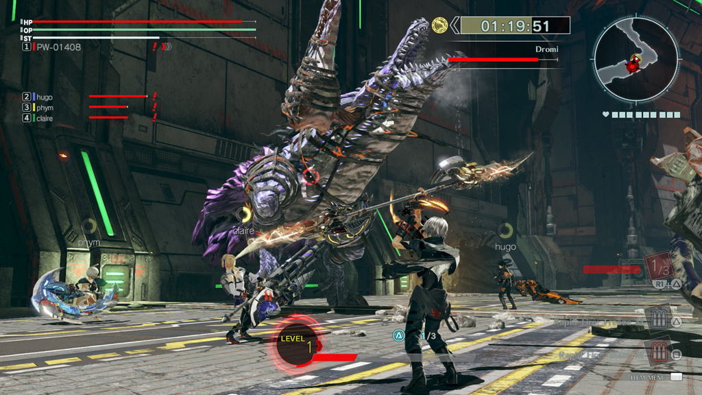 God Eater 3 - Time Attack